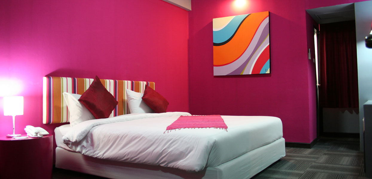 Deluxe Room Baiyoke Boutique Hotel Bangkok Thailand